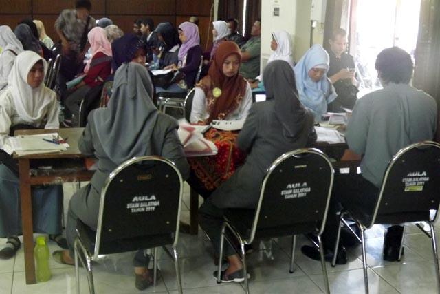 Registrasi Mahasiswa Baru STAIN Salatiga 2013