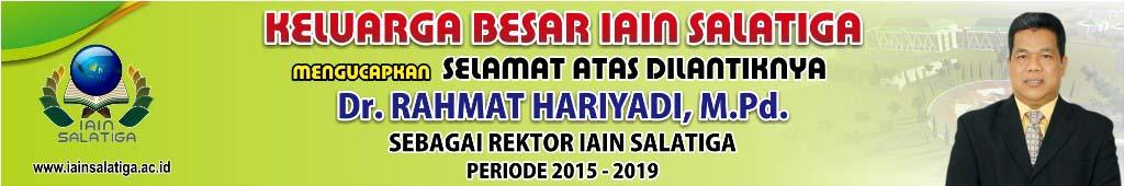 Banner Ucapan Selamat Pelantikan Rektor IAIN Salatiga
