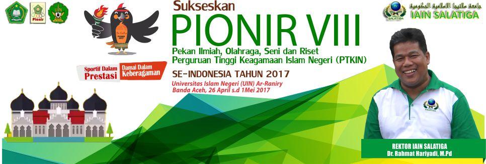 Pionir VIII 2017 di UIN Ar-Raniry, Banda Aceh
