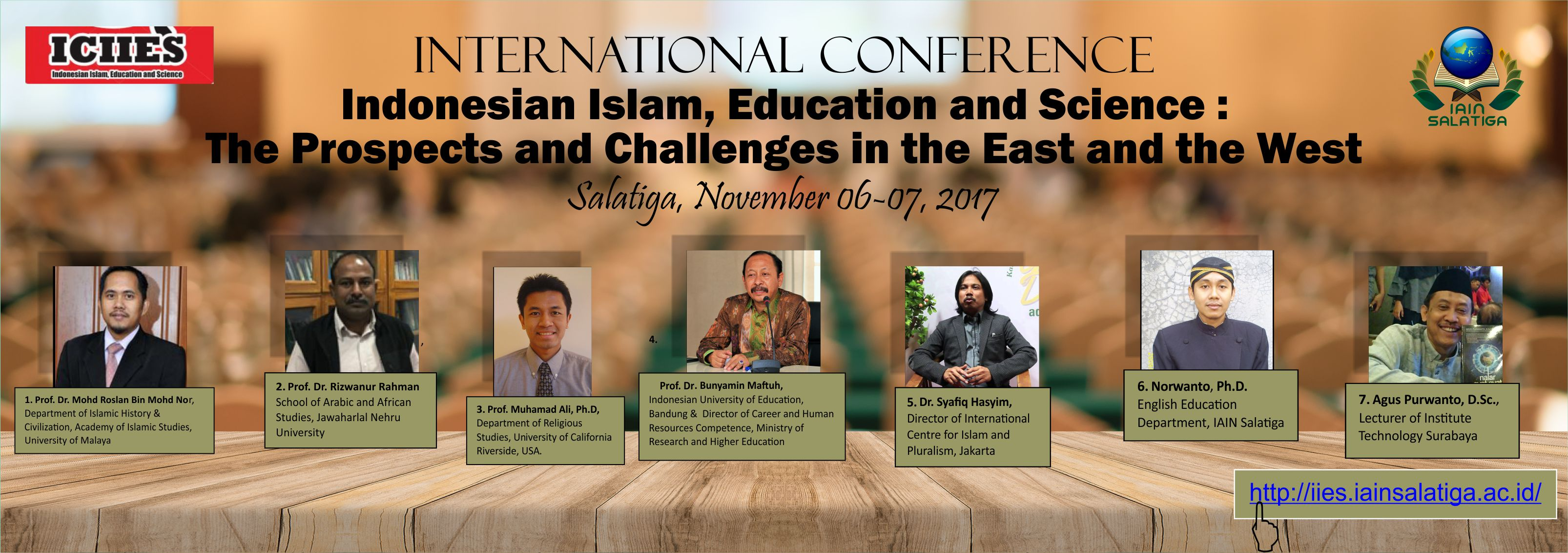Indonesian Islam, Education and Science : The Prospects and Challenges in the East and the West