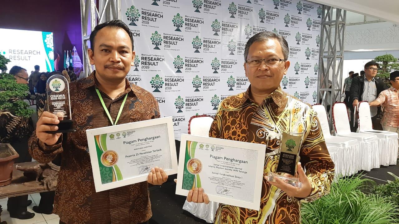 IAIN Salatiga Terima Penghargaan di Ajang BCRR 2019